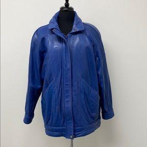 Outerwear Essentials Vintage Leather Jacket
